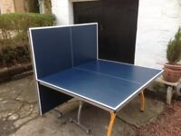 Outdoor weather proof foldable Table Tennis Table