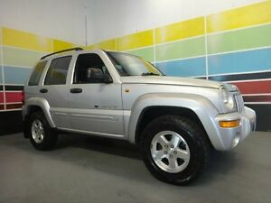 2002 Jeep Cherokee KJ Limited (4x4) Silver 4 Speed Automatic Wagon Wangara Wanneroo Area Preview