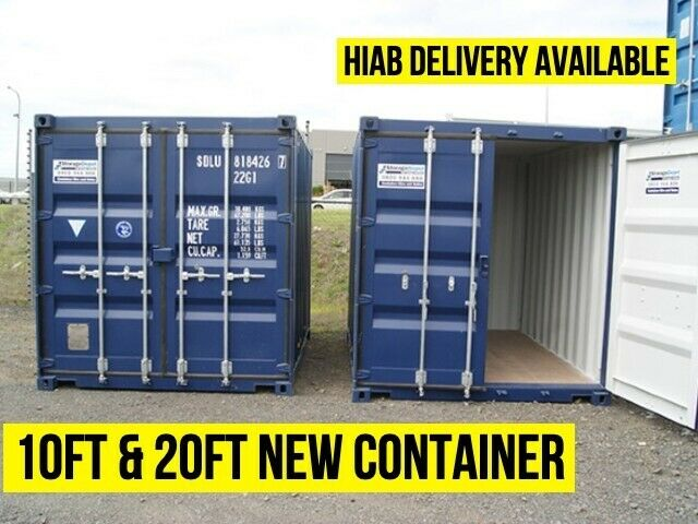NEW ONE TRIP ISO CONTAINERS 20FT ISO SHIPPING CONTAINER CARDIFF SOUTH WALES