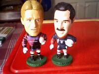 2 GOAL KEEPERS CORINTHIAN FOOTBALL FIGURES/MEN 1995 & 1998