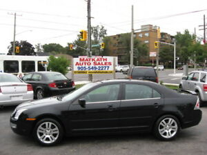 **2008 Ford Fusion SEL V6 AWD** Leath. & Sunroof, Cert, e-test