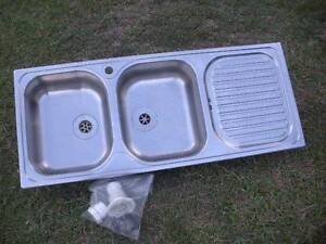 Stainless Steel Kitchen Sink Made in Italy $220 Albion Brisbane North East Preview