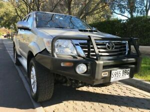 2014 Toyota Hilux KUN26R MY14 SR5 Double Cab Silver 5 Speed Automatic Utility Hawthorn Mitcham Area Preview
