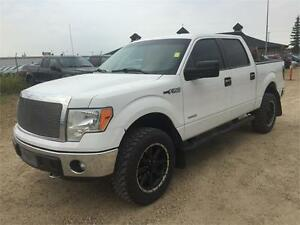 2013 Ford F-150 XLT w/XTR Pkg, 3.5L Eco and Upgraded Rims!