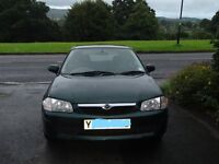 Mazda 323F 1.5 GLX Y Reg Metallic Green - Good condition inside and out