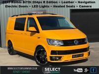 2017 VW Volkswagen Transporter BiTDi 204 Highline SWB Kombi R Edition in Yellow