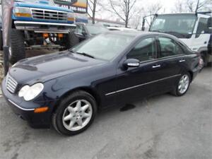 2004 Mercedes-Benz C-320 4Matic 3.2L Luxury-Package