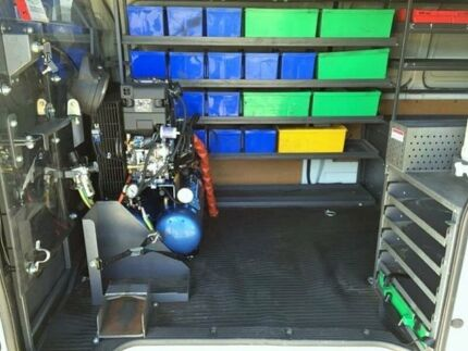 2013 Toyota Hiace KDH221R MY12 Upgrade SLWB White 5 Speed Manual Van Peakhurst Hurstville Area Preview