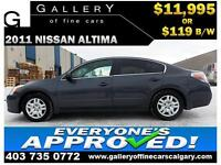 2011 Nissan Altima 2.5S $119 bi-weekly APPLY NOW DRIVE NOW
