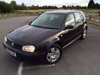 Volkswagen Golf 1.9 TDI PD Match 5dr,ONE OWNER FROM NEW,NEW MOT,FULL SERVICE HISTORY,HPI CLEAR