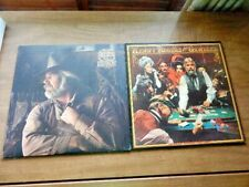 2 Lps-KENNY ROGERS-The Gambler 1978 & Gideon 1980 Kim ...