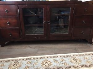 Solid Wood Bombay Entertainment Unit - FREE!!!!