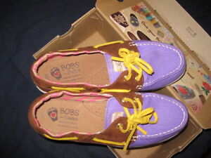 BOBS  Sperry style shoes
