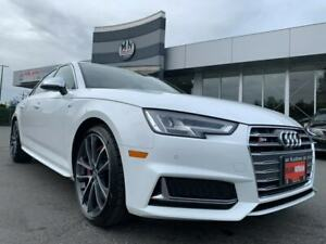 2018 Audi S4 3.0T Technik Quattro NAVI SUNROOF CAMERA LIKE NEW