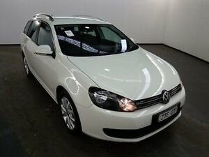 2014 Volkswagen Golf AU 103 TDI Comfortline Candy White 6 Speed Direct Shift Wagon Albion Brimbank Area Preview