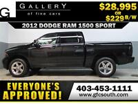 2012 RAM SPORT CREW *EVERYONE APPROVED* $0 DOWN $229/BW