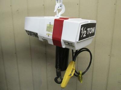 Coffing Ec-1009-1 Electric Chain Hoist 12 Ton 11 Ft. Lift 115230v 1 Ph