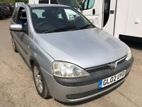 2002 Vauxhall Corsa 1 litre, starts and drives well, MOT until 11th August, 88,000 miles, ideal for