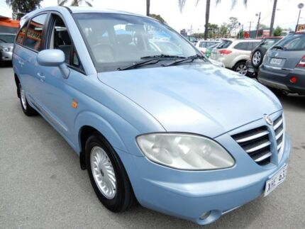 2005 Ssangyong Stavic A100 Sports Plus Blue 5 Speed Sports Automatic Wagon Enfield Port Adelaide Area Preview
