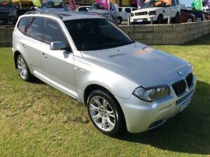 2007 BMW X3 E83 MY07 Steptronic Silver 6 Speed Sports Automatic Wagon