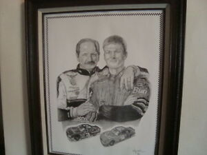 Dale Sr and Jr print