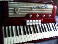 Rare Italian Marinucci Mod 780 Piano Accordion 41 Keys 120 Bass