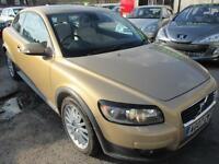 VOLVO C30 1.6D SE 3dr (gold) 2007