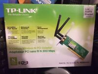 New TP-LINK TL-WN851ND Wireless N300 PCI Adapter