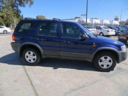 2003 Ford Escape ZA Limited Dark Blue 4 Speed Automatic Wagon