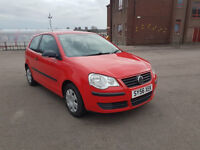 PETROL VOLKSWAGEN POLO NEW SHAPE SERVICE HISTORY LONG MOT EXCELLENT CONDITION