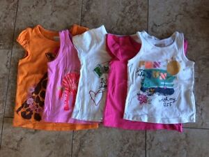 Old Navy, Childrens Place Girls Shirts and Tank, size 18-24 mths