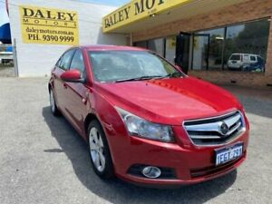 2011 Holden Cruze JH Series II MY11 CDX Red 6 Speed Sports Automatic Sedan Kelmscott Armadale Area Preview