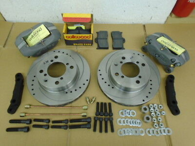 Triumph TR7 TR8  UPRATED BRAKE KIT  WILWOOD CALIPERS VENTED DISCS ALL FITTINGS