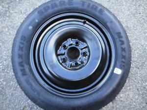 1 used spare tire and wheel Ford Fusion R145/80/16 donut