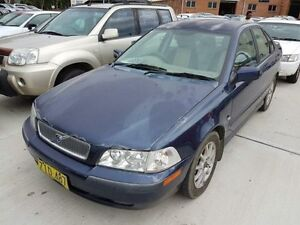 2000 Volvo S40 MY01 2.0T SE Blue 5 Speed Automatic Sedan Georgetown Newcastle Area Preview