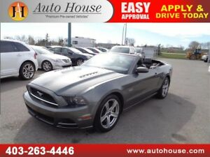 2013 FORD MUSTANG GT 5.0 CONVERTIBLE LEATHER BACKUP CAMERA