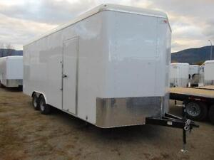 2017 Mirage 8.5 X 22 V-Nose Cargo / Toy Hauler w. Ramp