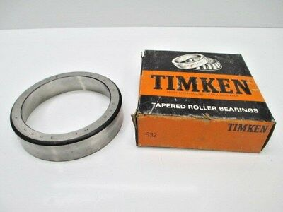 TIMKEN TAPERED ROLLER BEARING CUP 632 SINGLE CONE MANUFACTURING NEW CONSTRUCTION - Construction Cone Cups