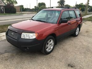 2008 Subaru Forester 2.5X NO RUST!! EXCELLENT SHAPE!!