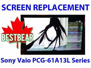 Screen Replacment for Sony Vaio PCG-61A13L Series Laptop