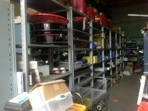 WAREHOUSE CLEARANCE OF INDUSTRIAL EQUIPMENTS