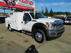 2013 FORD F450 SERVICEBODY/LOW KMS