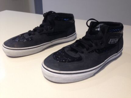 "Boys Vans Off the Wall ""Half Cab"" Black Shoes Mont Albert North Whitehorse Area Preview"