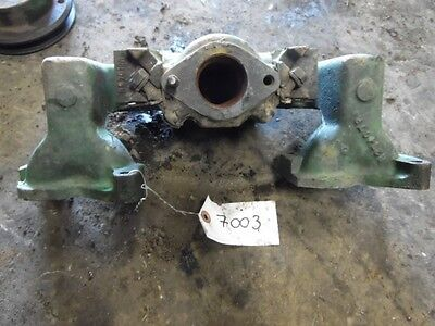 John Deere 3010 Gas Tractor Engine Intake Housing Part R27407r Tag 7003