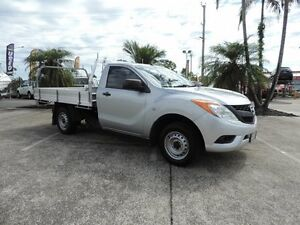 2013 Mazda BT-50 UP0YD1 XT 4x2 Silver 6 Speed Manual Cab Chassis Caboolture South Caboolture Area Preview