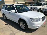 2005 Subaru Forester 79V MY06 XS AWD White 4 Speed Automatic Wagon Park Holme Marion Area Preview