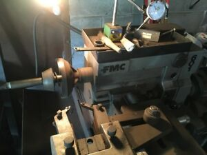 FMC 601 Brake drum and large rotor Lathe machine