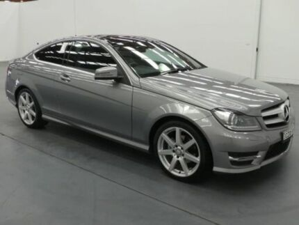 2015 Mercedes-Benz C180 W204 MY15 C204 AVANTGARDE 7G-TRONIC + Silver 7 Speed Automatic G-Tronic