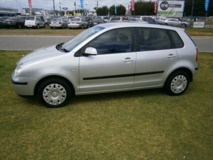 2003 Volkswagen Polo TYPE N A04 Silver 5 Speed Manual Hatchback