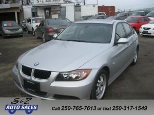 2007 BMW 323i ONLY 67000 KM!LOCAL 1 OWNER!